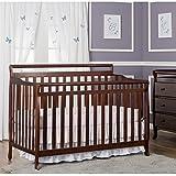 Dream On Me Liberty 5-in-1 Convertible Crib, Espresso