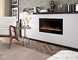 Dimplex Prism Wall Mount Linear Electric Fireplace Insert, Black by Dimplex