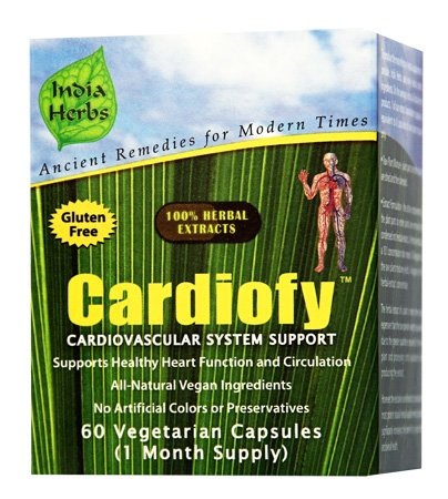 Healthy for Life Program - Heart Care, Blood Sugar Regulation, Weight Loss, 180 Capsules by India Herbs (Image #1)