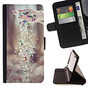 King Case - FOR HTC Desire 820 - ?not install the ending - Prima caja de la PU billetera de cuero con ranuras para tarjetas, efectivo Compartimiento desmontable y correa para la mu?eca
