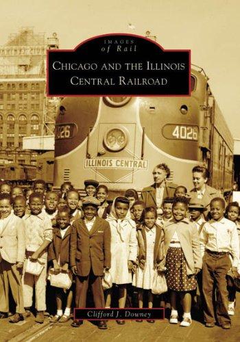illinois central railroad books - 2