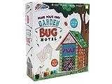Grafix Make & Paint Your Own Garden Bug Hotel Childrens Building Outdoor Wildlife Craft Kit
