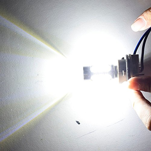 FEZZ Auto LED Ampoules S25 BA15S 1156 5630 15SMD 7.5W CANBUS DRL Feux de Jour