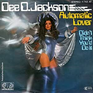 Dee D. Jackson - Automatic Lover - Jupiter Records - 11 743 AT