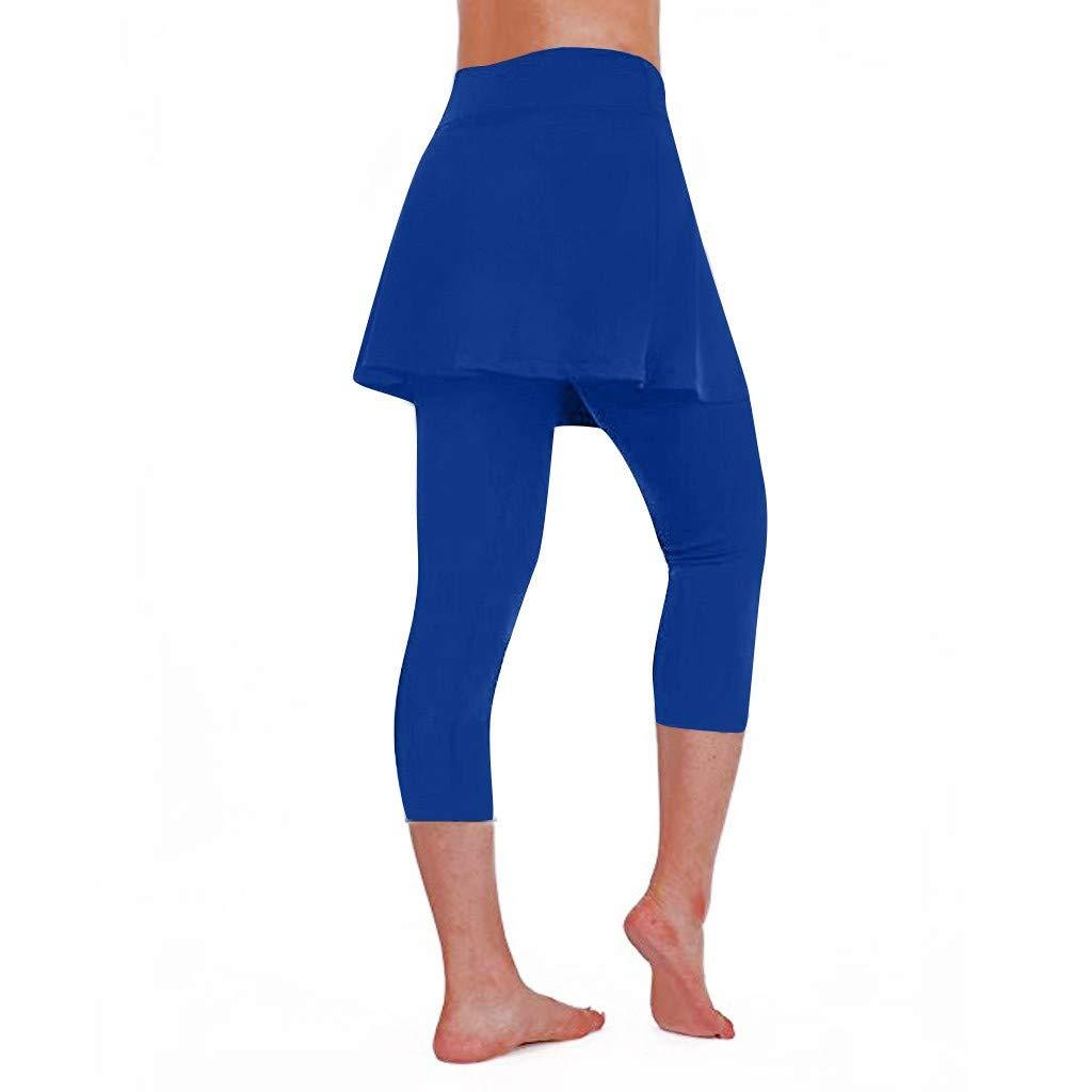 Leggins de Yoga Mujer SUNNSEAN Pantalones Deportivos Color ...