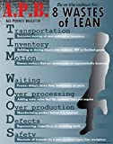 Tim Woods 8 Forms of Waste Lean Poster 16' X 20', Made in The USA