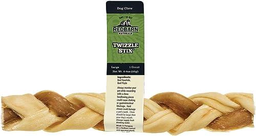 Redbarn Large Twizzle Stix 60-Count