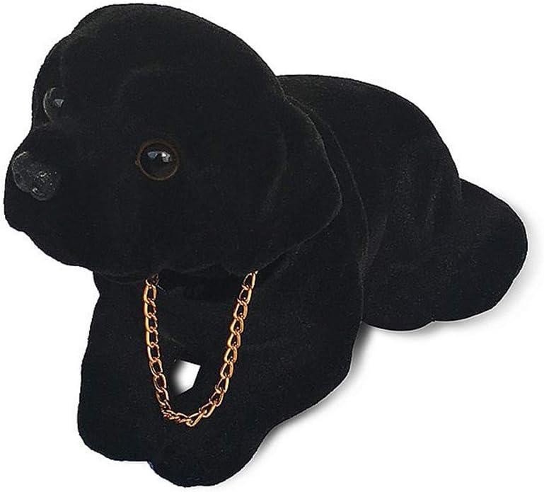 Mary Paxton Bobble Head Labrador,Car Decoration Nodding Dog Ornaments High Emulation Creative Dog Dashboard Crafts Dog Lover Gift for Car Vehicle Desk Tabletop Office Decor Baby Kids Toy (Labrador)