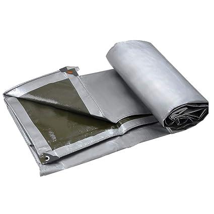 MUMA Caseta De Plástico PE Exterior Tela Impermeable Protección Solar Lona Gruesa Lona De Lona Lona