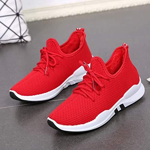Liuxc Baskets Chaussures pour Hommes de Sports d'hiver,Chaussures Couple Sauvages Chaussures étudiants Occasionnels Chaussures