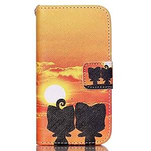 Jepson Funda Tipo libro Apple iphone 5c Cuero Carcasa PU Leather Case Flip Piel Cover Cierra Magnético con Función Soporte y Ranuras para la Tarjeta de Débito crédito de Piel de la PU Cubierta Caso