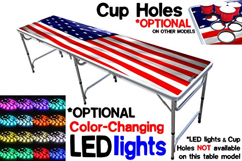 8 Foot Professional Table OPTIONAL Lights