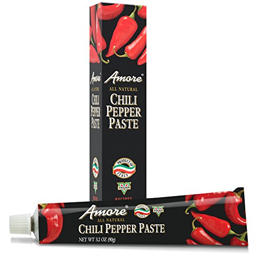 Amore Chili Pepper Paste, 3.2 Ounce Tube