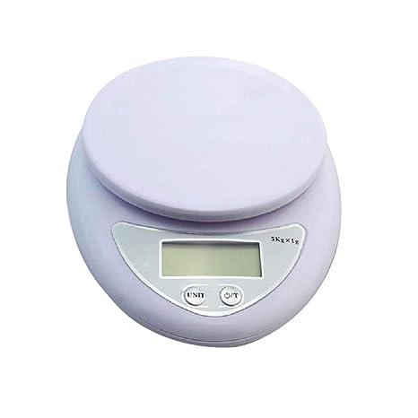 Básculas Electrónicas, Básculas De Cocina, Básculas para Hornear, Pantalla LCD, Base Antideslizante
