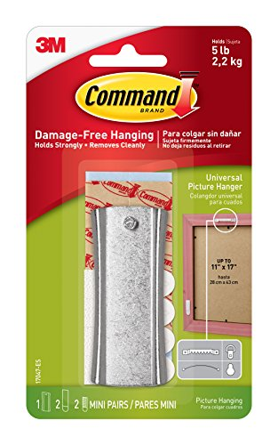 Command Picture Hanger - Command Sticky Nail Sawtooth Hanger, 5-Pound