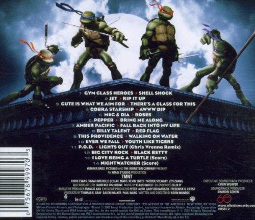 Las Tortugas Ninja: Original Soundtrack: Amazon.es: Música