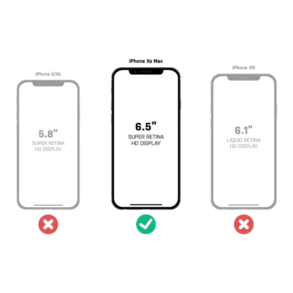 OtterBox 77-59971 Defender H/ülle Apple iPhone XS Max Schwarz