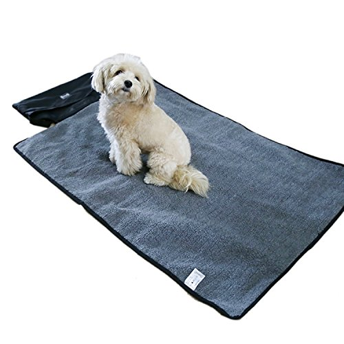 Pettom Pet Mat Blanket for Dogs & Cats Car Travelling Outdoor Activities Waterproof and Portable with Storage Bag 39