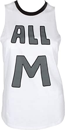 Seven Times Six My Hero Academia Juniors' All Might Ringer Tank Top