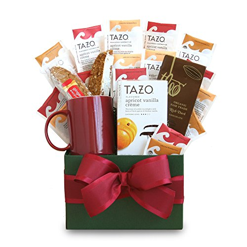California Delicious Tazo Tea Temptations Gift Basket