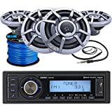 Best Clarion Car Stereo Systems - Clarion Marine M508 Single-DIN SiriusXM Ready Bluetooth USB Review