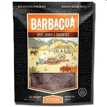 Barbacoa Sabor Beef Jerky, Chipotle, 3 Ounce