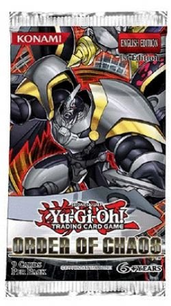 Yugioh Order of Chaos Sealed Booster Pack ORCS x 3
