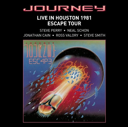 CD : Journey - Live in Houston 1981: The Escape Tour (CD)