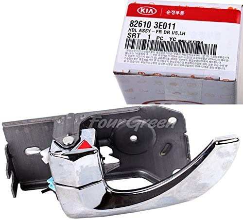 Amazon Com Oem Inside Door Handle Front Left Side For Kia 03 09 Sorento Oem New 826103e011 Automotive