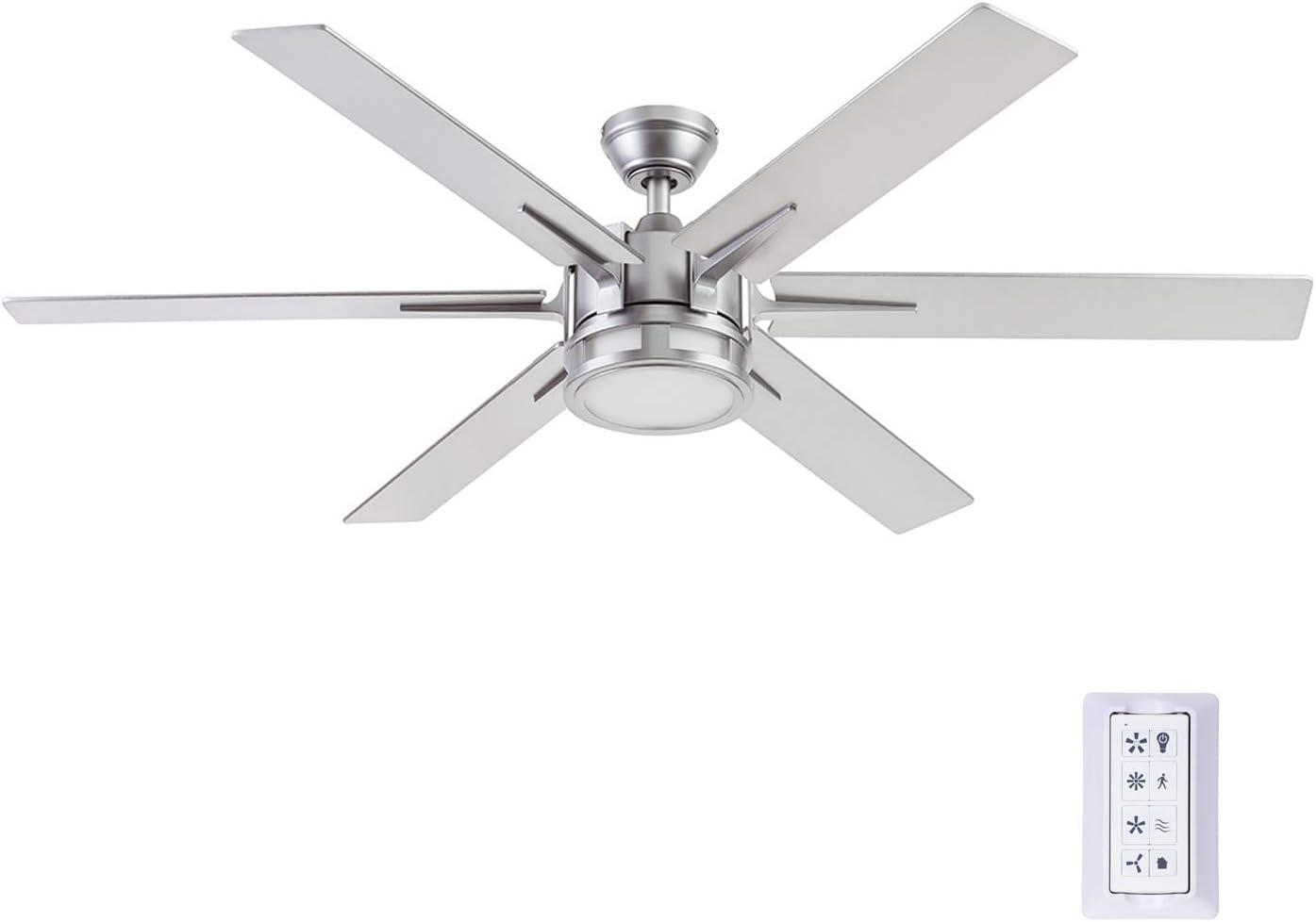 Honeywell Ceiling Fans 51626-01 Kaliza Ceiling Fan, 56, Pewter