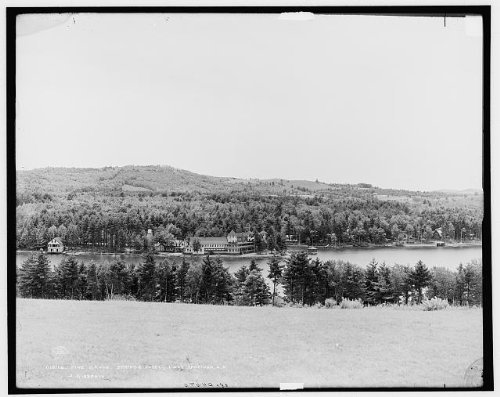 Photo: Pine Grove Springs Hotel,resorts,buildings,Lake Spofford,New Hampshire,NH,c1905
