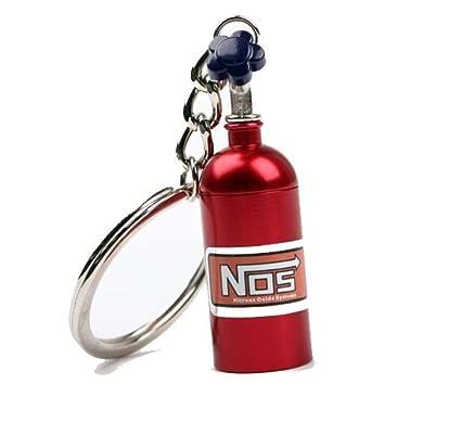 NOS óxido nitroso Botella Nitro llavero - Turbo Llavero in 4 ...