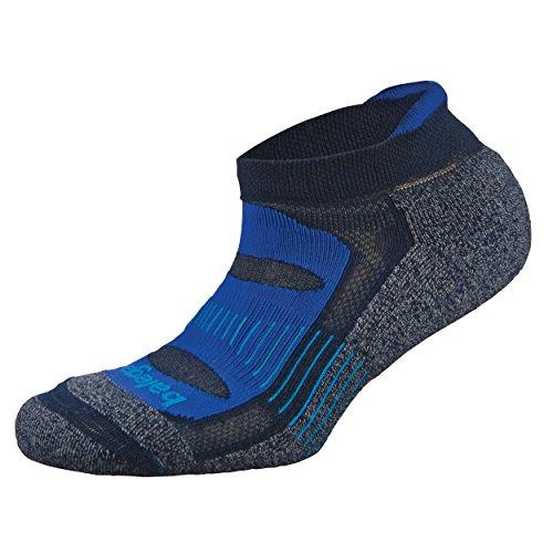 Balega Blister Resist No Show Running Socks For Men and Women (1 Pair), Navy, Large