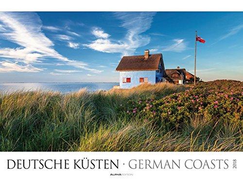 Deutsche Küsten 2018 - Nordsee/Ostsee - Bildkalender XXL (64 x 48) - Landschaftskalender - Naturkalender