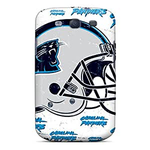 Durable Carolina Panthers Back Case/cover For Galaxy S3