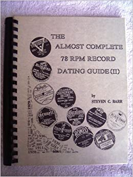 78 almost complete dating guide record rpm
