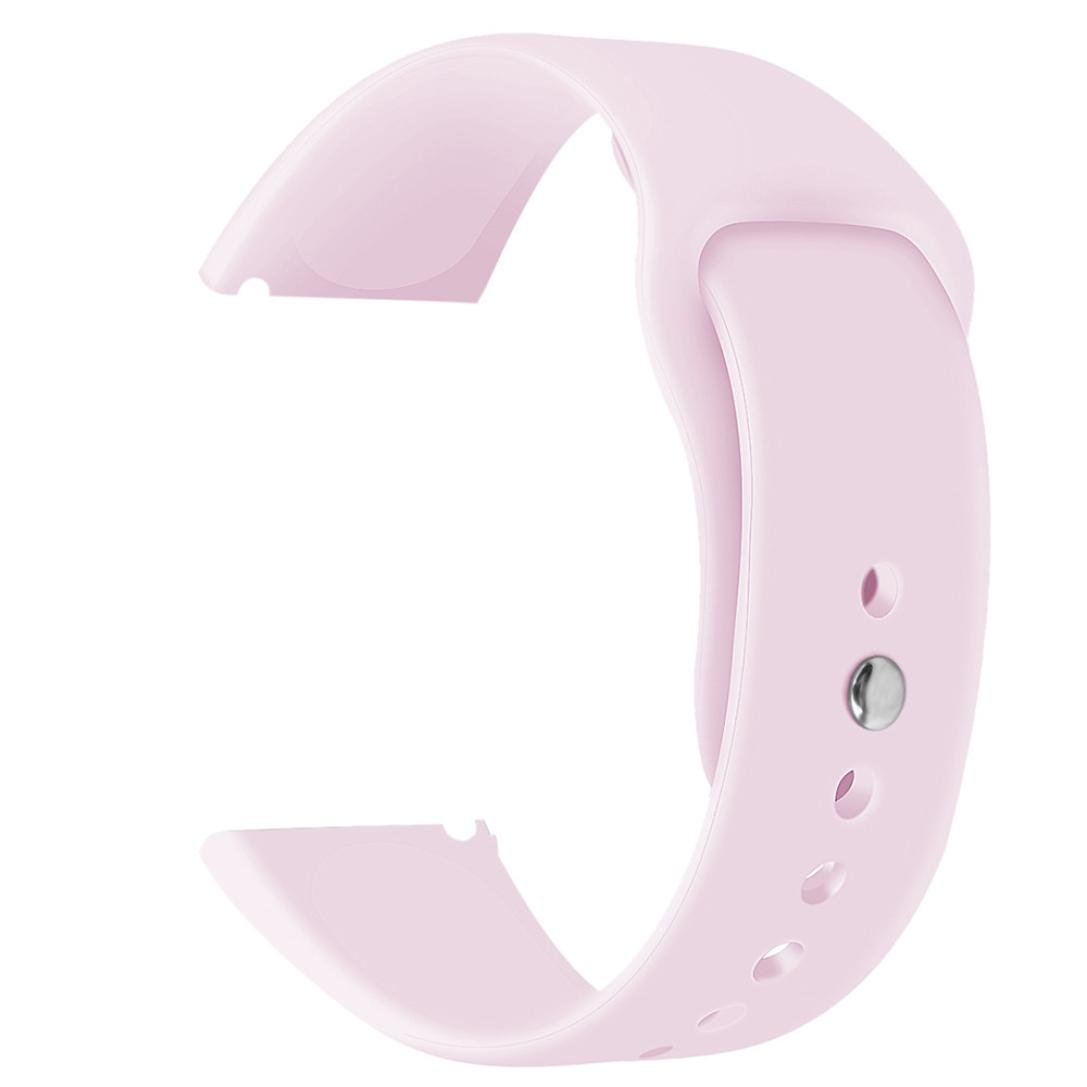 YRD Tech for Fitbit Versa Smartwatch Soft Silicone Replacement Sport Classic Band Strap (Hot Pink )