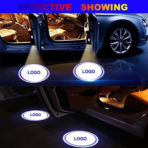 NO LOGO XFC-ZSD, Puerta LED E60 E90 E46 E63 E61 E93 vehículo ...
