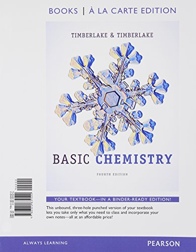 Basic Chemistry, Books a la Carte Edition (4th Edition)