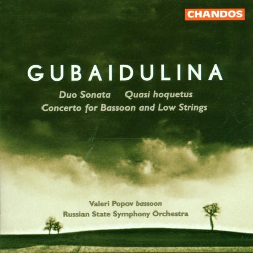 Gubaidulina: Concerto for Bassoon / Duo Sonata / Quasi Hoquetus (Popov Symphony compare prices)