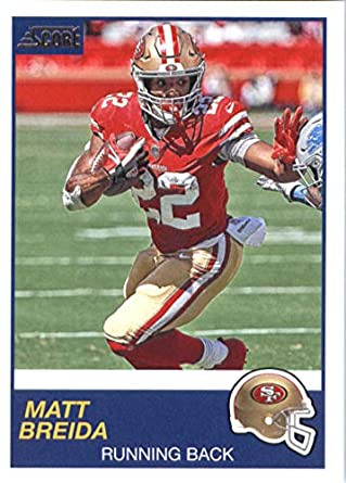 ad698809619 2019 Score  306 Matt Breida San Francisco 49ers NFL Football Trading Card