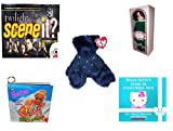 Girl's Gift Bundle - Ages 6-12 [5 Piece] - Twilight Scene It? Trivia DVD Board Game - Springtime Victorian Ladies By Elsie Massey - Ty Attic Treasures Orion The Bear - Barbie Wonderful Winter Holida offers