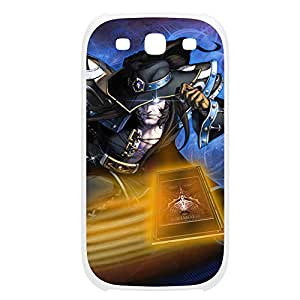 TwistedFate-006 League of Legends LoL case cover Ipod Touch 4 Plastic White