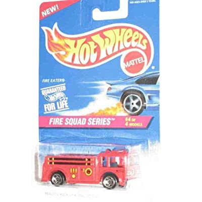 Fire Squad Series #4 Fire Eater 5-Spoke Wheels #427 Collectible Collector Car Mattel Hot Wheels 1:64 Scale: Toys & Games