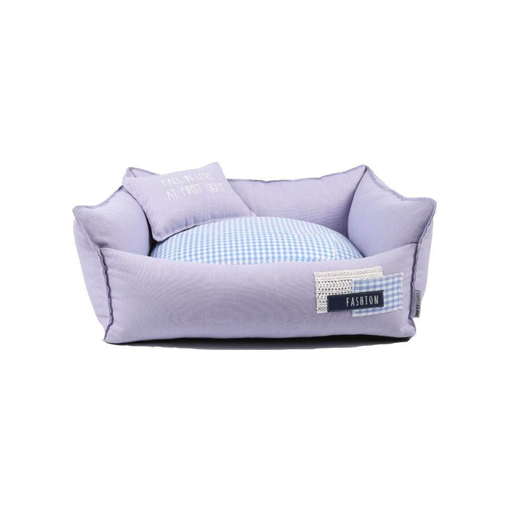 8568cm Pet Nest,Spring and Summer Removable and Washable Cute Small Dog Kennel (Size   85  68cm)