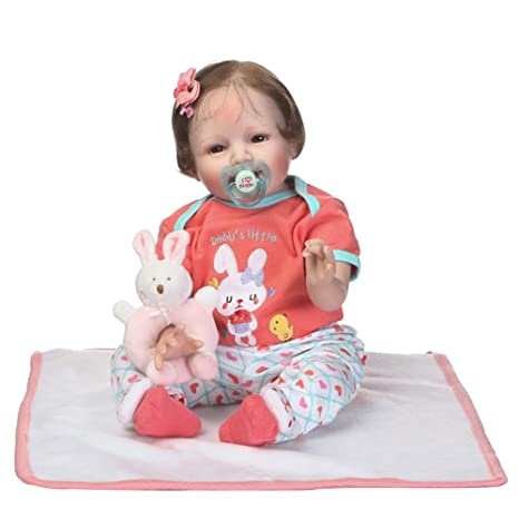 XdremYU - Muñeca para recién Nacidos (55 cm, Silicona de Vinilo ...