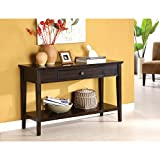 Metro Shop Furniture of America Karlyn Dark Cherry Sofa/ Entryway Table