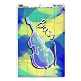 Graphics and More String Bass Upright Musical