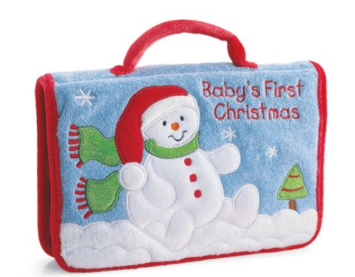 GUND Baby's First Christmas Photo Album