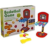 Little Treasures Ball Shoot Basketball Game, Mini Version for The Home or Office Loved by Adults and Kids